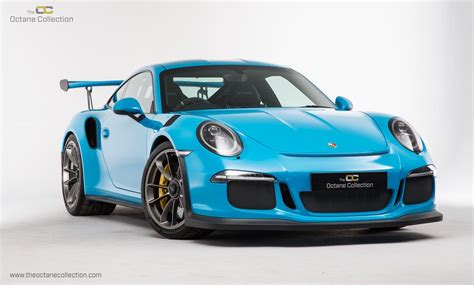 miami blue porsche gt3 rs used 2016 porsche 911 gt3 991 for sale in guildford