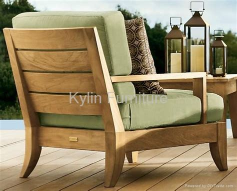 wooden garden sofa outdoor solid wood sofa set china manufacturer