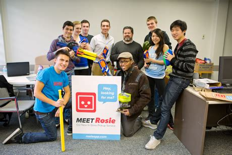 Team Rosie Rallies by Elab Entrepreneurs Can Earn Credit For Startup Work