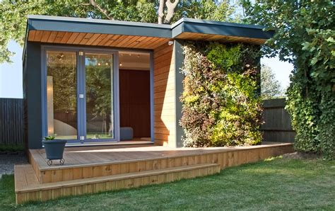 Shed Roof Architecture by Walled Courtyard Garden Design Shed Modern With Wood