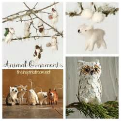 animal ornaments bottle brush animal christmas ornaments images