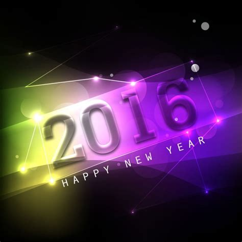 new year 2016 vector free colorful happy new year 2016 background vector free