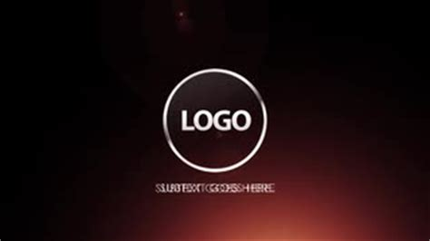 ae cs4 templates logo reveal after effects templates