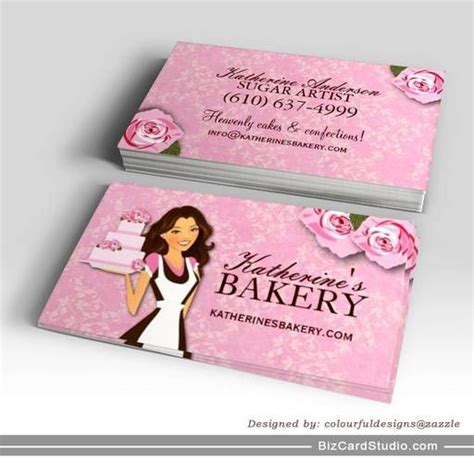 cake business cards templates cake bakery business cards bakery business cards