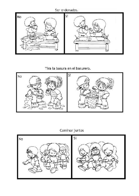 classroom rules coloring pages