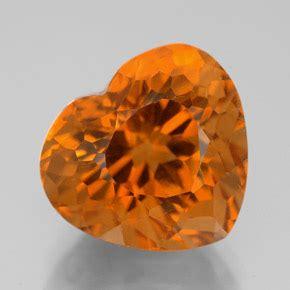 Citrine Ct 01 7 3 carat yellow orange citrine gem from brazil