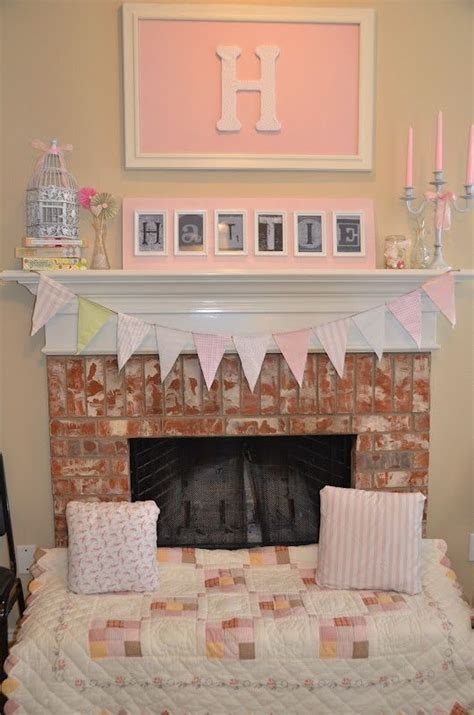 fireplace seating ideas decorate fireplace for extra seating for baby girl shower