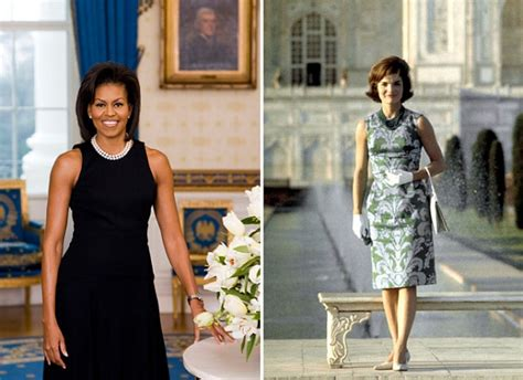 kennedy white photos jackie kennedy and michelle obama the white house