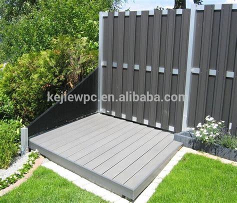 fireproof waterproof wood plastic composite fencing