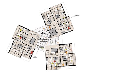 c humphreys housing floor plans gallery of university of southern denmark student housing