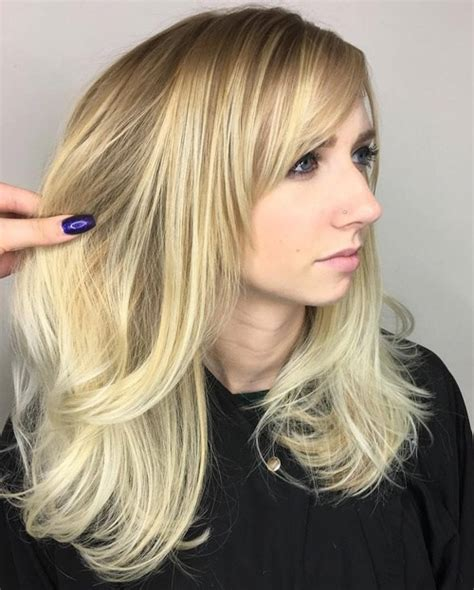 40 cute and effortless long layered haircuts with bangs 40 cute and effortless long layered haircuts with bangs