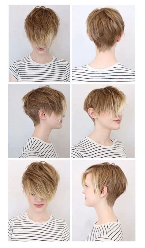 how to pin a fringe back pixie cut hair muse soft undercut pixie hair pinterest my