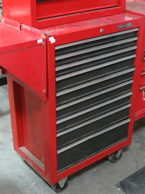 craftsman 4 drawer rolling tool chest quot craftsman quot rolling 9 drawer tool chest