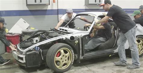 Porsche Restoration by A Porsche 964 911 Restoration Condensed To 5 Minutes