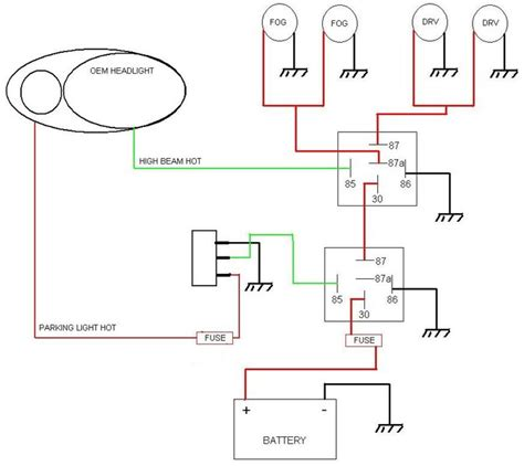 5 pin relay wiring diagram spotlights wiring diagram