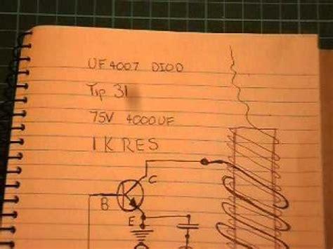 2n3055 transistor tesla coil slayer exciter tesla coil a wiring diagram