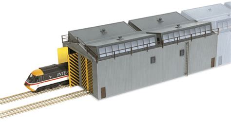 Peco Engine Shed by Lk 80 Peco Manyways Series Lineside Kits Shed Unit