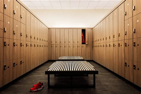 locker room inside equinox s luxury locker rooms