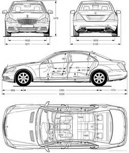 size of mercedes s class