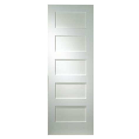 Quot Shaker Quot 5 Panel Door Rona 5 Panel Shaker Interior Door