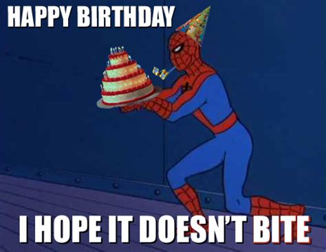 Spiderman Meme Birthday - spider man happy birthday quotes quotesgram