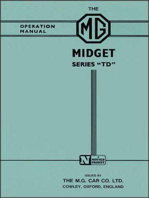 Driver Display 1951 by Mg Td Drivers Handbook 1950 1951 1952 1953 Glovebox