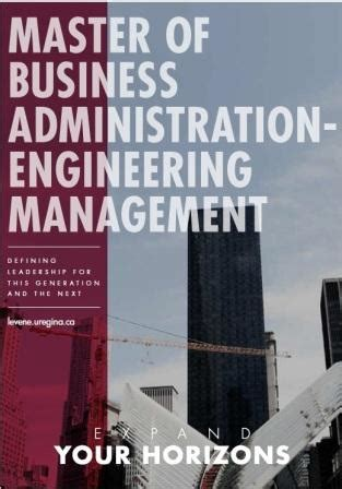 Mba Or Engineering Management by Levene Mba Engineering Management Kenneth Levene
