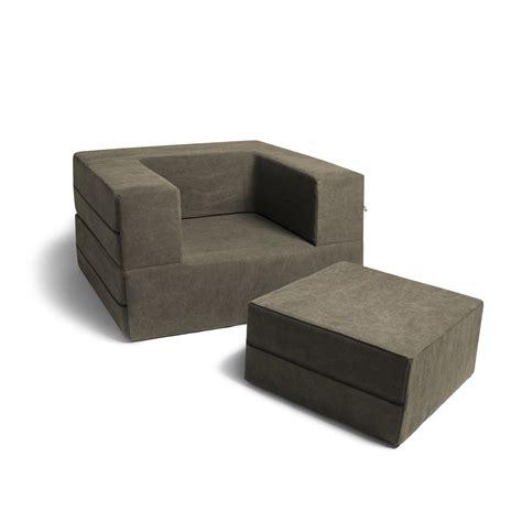Convertible Sleeper Ottoman Convertible Sleeper Chair Ottoman Green Jaxx Touch Of Modern