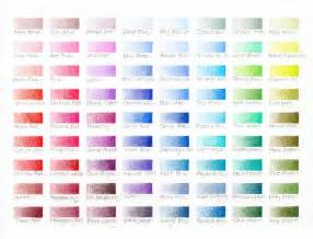 prismacolor color chart 7 best images of blank colored pencil chart prismacolor