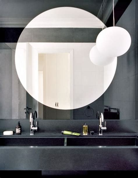 round mirror for bathroom to da loos large round mirrors in the bathroom my