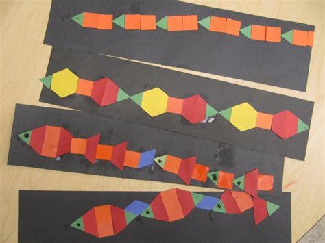 pattern snake kindergarten 45 best ps shapes images on pinterest preschool shapes