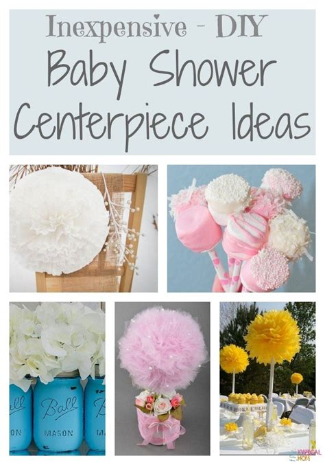 inexpensive baby shower centerpieces dollar store decorating ideas for a baby shower that are easy and inexpensive to do cheap baby