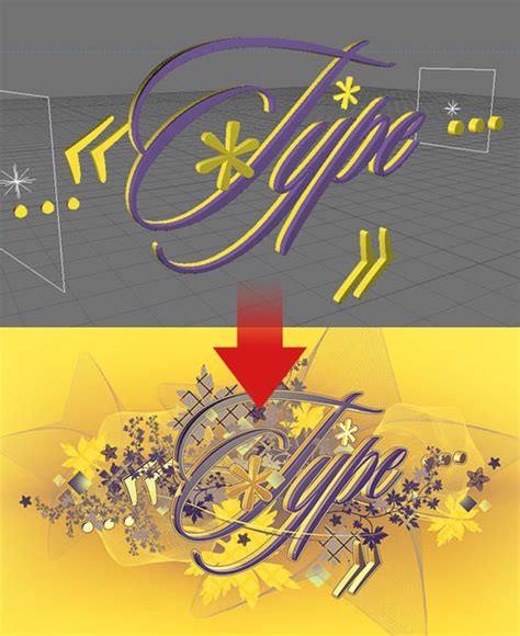 typography tutorial cinema 4d 10 text effects tutorials that combine cinema4d with photoshop
