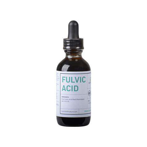 Fulvic Acid Detox Symptoms by Fulvic Minerals Fulvic Acid Mineral Supplement 2 Oz