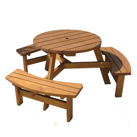 wooden bench set 6 seater wooden picnic bench table set homegenies