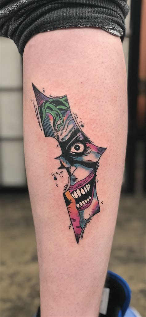 batman joker tattoo new batman joker batman