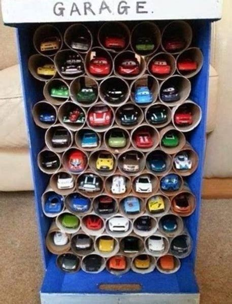 toilet paper roll car craft toilet paper roll crafts to keep your home organized