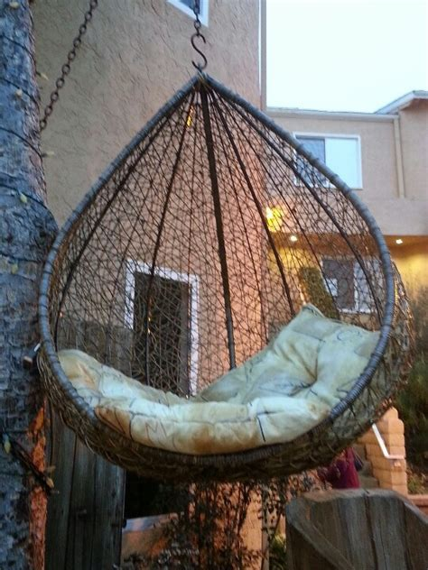 cool hanging chairs cool hanging chair putting a smile on my face