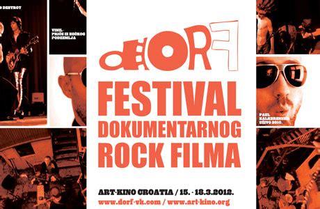 dorf 2012. festival dokumentarnog rock filma | filmski