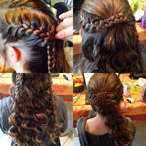 scalp braids in a french twist how to curly side plaited pin up french plait a third