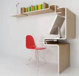 Office Desk Small Space Space Saving Furniture Home Office Desk Storage Idea