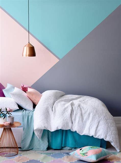 murales juveniles mujer 10 habitaciones juveniles con paredes geometricas