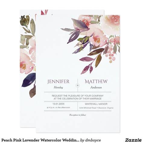 Wedding Invitations Watercolor by Watercolor Wedding Invitations Choice Image Wedding