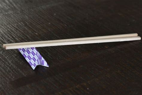 Chopstick Rest Origami - origami chopstick rest