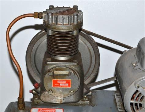 dayton speedaire air compressor leftovers kc auction 10 equip bid