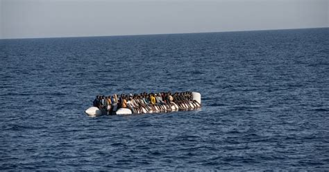 refugee boats to italy refugee crisis rescue boats from libya to italy