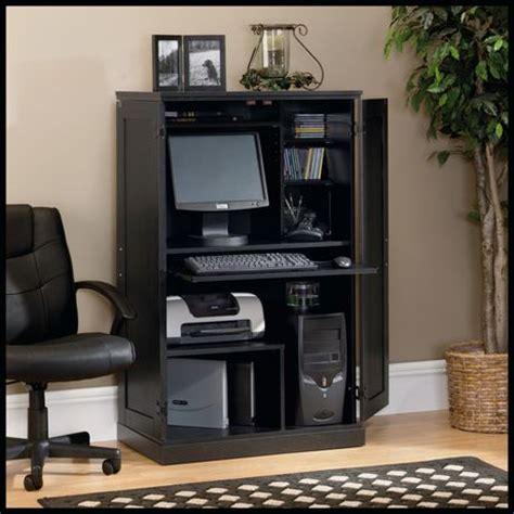 Computer Armoire Sauder Sauder Computer Armoire Ash Finish 169729 Walmart Ca