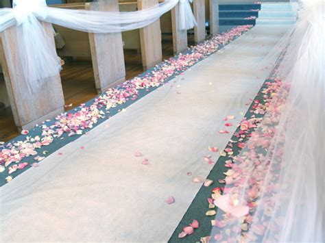 Wedding Aisle Decorations On A Budget by Wedding Decorations On A Small Budget
