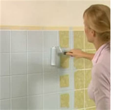 how to remove tile paint from bathroom tiles home dzine bathrooms painting tiles for a weekend makeover