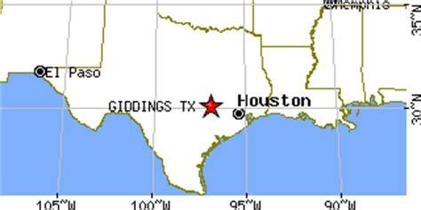 giddings texas map giddings texas tx population data races housing economy